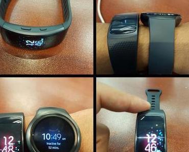 Samsung Gear Fit 2: Erste Fotos und Informationen zum Fitness-Tracker