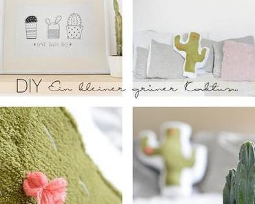 DIY Kaktus Kissen
