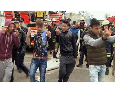 Wehrfähige Männer als Asyl-Kinder