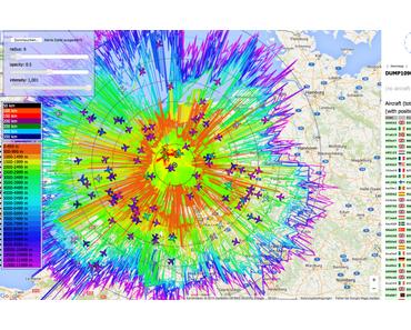 Docker Image für Dump1090-Mutability auf dem Raspberry Pi am Beispiel aus Utrecht – Niederlande in 10 min testen
