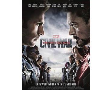 Filmkritik: «The Return of the First Avenger: Civil War» (seit dem 28. April 2016 im Kino)