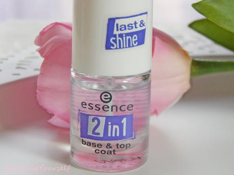 [Review] Essence 2 in 1 base und top coat