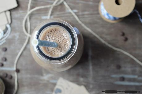 Breakfasttime: Mocca Smoothie / Smoothie with Coffee and Bananas