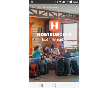 Hostel-App Hostelworld im Test