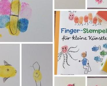 Malen mit Fingerabdruck