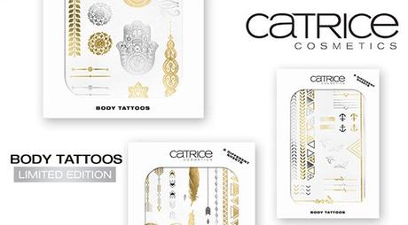 Limited Edition Body Tattoos by CATRICE