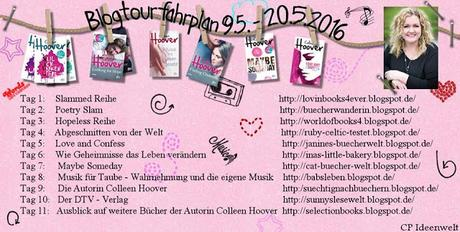 [Blogtour] Colleen Hoover - Vorstellung des Buches Love and Confess