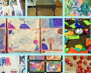 Schulprojektwoche: Kunst und Gestalten