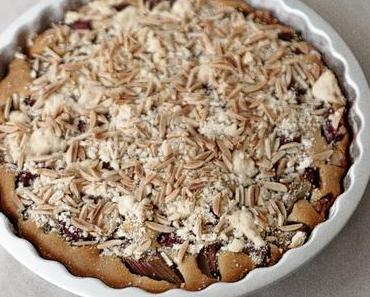 Rhabarber -Apple Cake Glutenfree