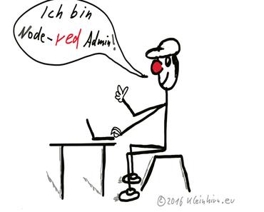 Wie kann die node-red-admin Konsole auf den Raspberry Pi installiert werden?
