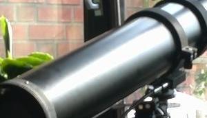 Foto: Newton-Teleskop wartet seinen Einsatz