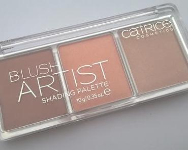 Catrice Blush Artist Shading Palette 010 BronzÉclat + DenTek Comfort Clean Zahnseide-Stick Backenzähne