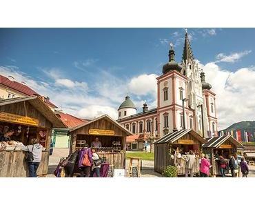 """Mariazeller Klostermarkt und Pilgerausstellung """"Peregrinari"""" von  10. bis 12. Juni"""