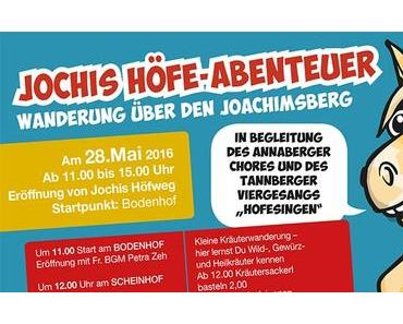 Jochis Höfe-Abenteuer – Wanderung über den Joachimsberg