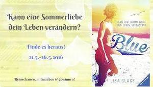 [Blogtour] Gewinner »Blue Kann eine Sommerliebe dein Leben verändern?« Lisa Glass