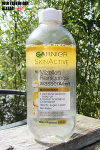 GARNIER Mizellen Reinigungswasser All-in-1 Waterproof