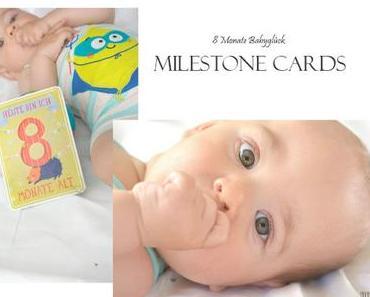 8 Monate Babyglück- Milestone Cards