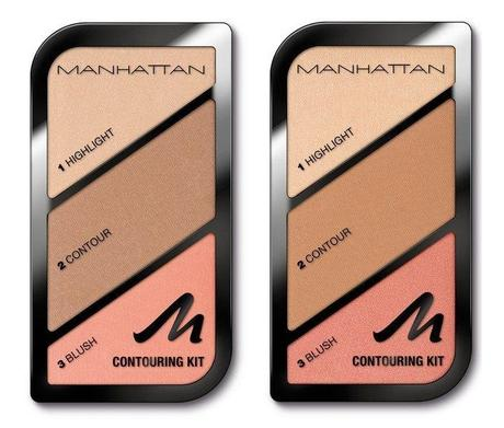 MANHATTAN Contouring Kit 01 St Tropez Glow - 02 Summer in Barbados