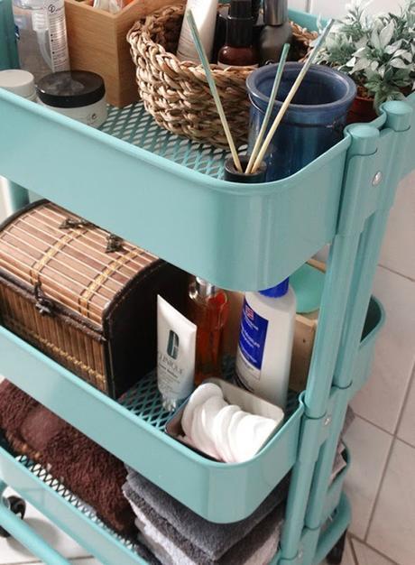 ikea hack servierwagen im bad. Black Bedroom Furniture Sets. Home Design Ideas