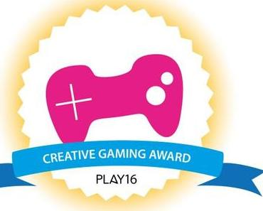 PLAY16 Festival – zweite Verleihung des Creative Gaming Award