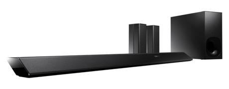 Sony HT-RT5 mit Subwoofer und Rear-Speakern