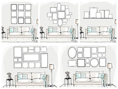 fr hlingsprojekt bildergalerien und kunstw nde diy. Black Bedroom Furniture Sets. Home Design Ideas