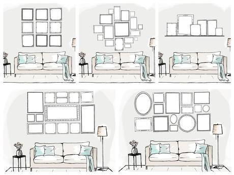 fr hlingsprojekt bildergalerien und kunstw nde diy. Black Bedroom Furniture Sets. Home Design Ideas
