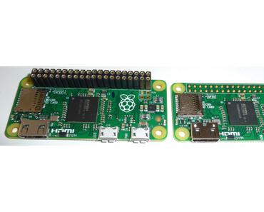 Raspberry Pi Zero 1.3 jetzt mit Kamera