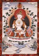 Vajrasattva und die Begleitung von Verstorbenen