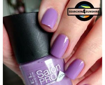 [Nails] Lacke in Farbe ... und bunt! LILA mit RIMMEL LONDON 312 ULTRA VIOLET