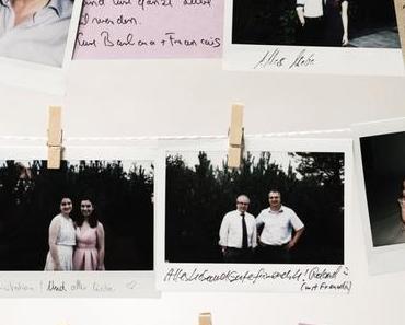 Sommerzeit ist Hochzeitszeit: Das alternative Polaroid-Gästebuch-Bild