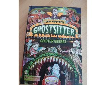 """""""Ghostsitter - Geister gerbt""""  Tommy Krappweis"""