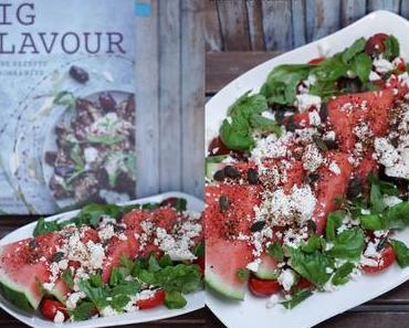 [cooks...] Water Melon Feta Salad with Berry Flavour {Big Flavour}
