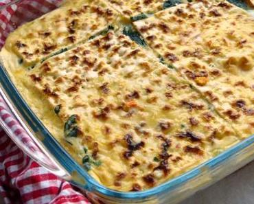 Matzen-Spinat-Pie