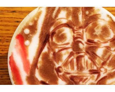 Star Wars Kaffee Kunst in der Tasse