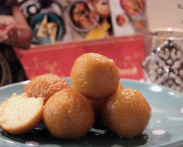 Exotische Süßigkeiten – indische Milchbällchen