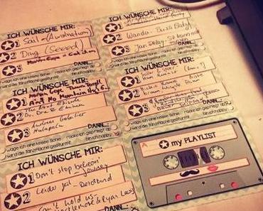 Musikwunschkarten für Gäste
