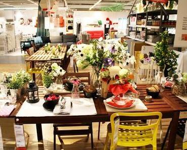 MachMidsommar bei IKEA - Tischdeko