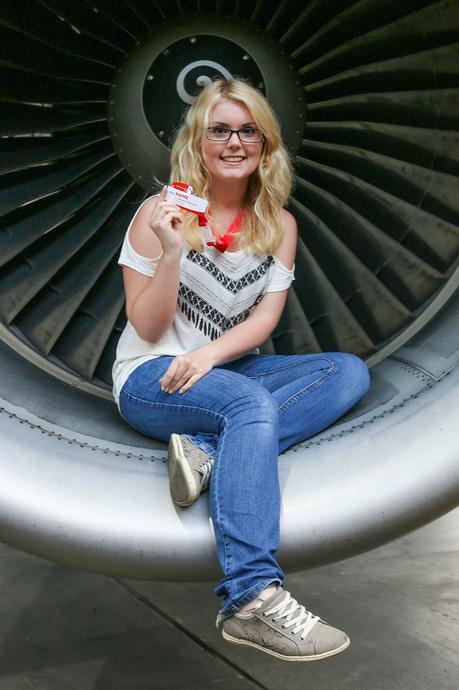 Von Flugangst, dem Besuch in der Austrian Airlines Werft & Dinner in einer Boing 777