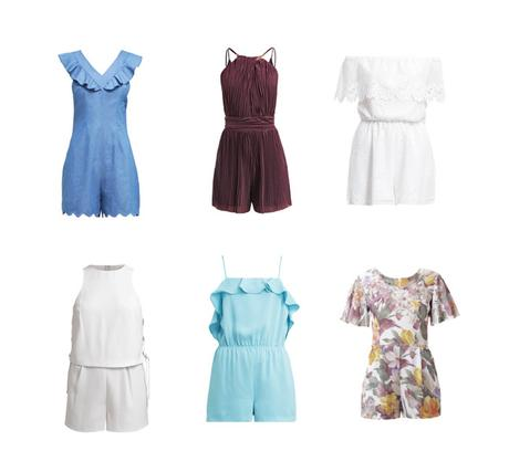 jumpsuits overalls culotte playsuits on sale reduziert