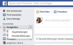Facebook weiß, was der Nutzer lesen will