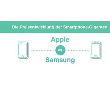 Apple vs. Samsung – Die Preisentwicklung der Smartphone-Giganten