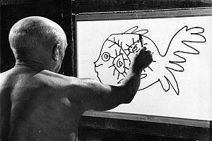 """Dokumentation: """"Picasso"""" / """"Le Mystère Picasso"""" [F 1956]"""