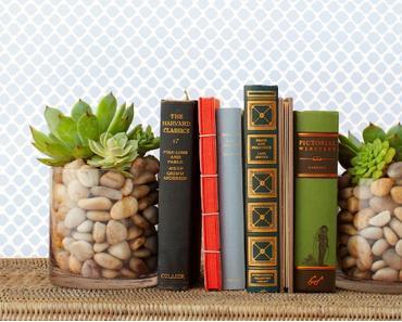 Inspiration - 10 Ungewöhnliche DIY Buchstützen
