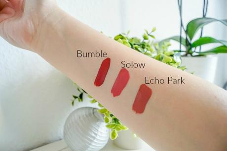 Liquid Lipsticks Echo Park, Bumble und Solow