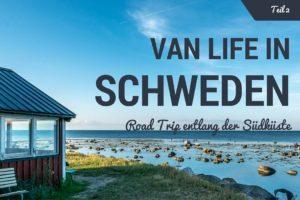 Im Van entlang der schwedischen Südküste in Skåne – Teil 2