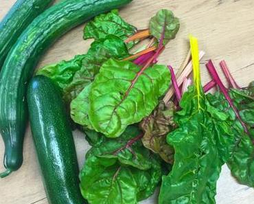 Zucchini-Mangold-Salat