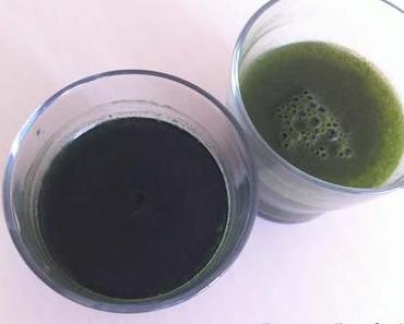 Grün trinken