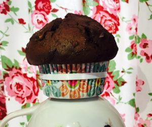 Schnelle double chocolate Muffins