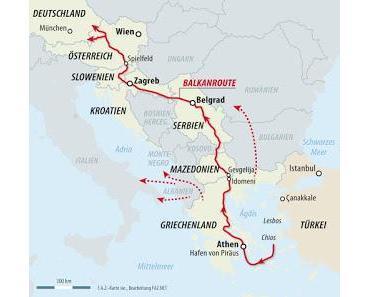 Die Balkanrouten-Einwanderer sind wieder unterwegs